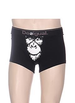 Shorty/Boxer noir DESIGUAL pour homme