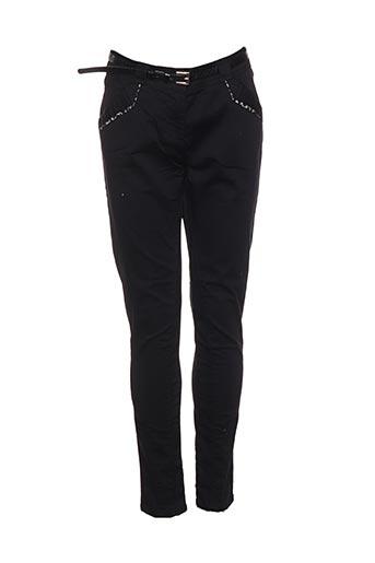Pantalon 7/8 noir BREAL pour femme