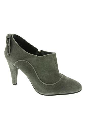 naf naf chaussures femme de couleur gris