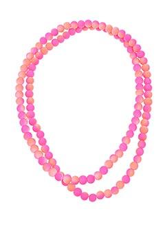 Sautoir rose AUTOUR D'ELLE pour femme