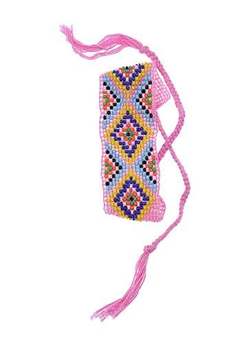 Bracelet rose AUTOUR D'ELLE pour femme