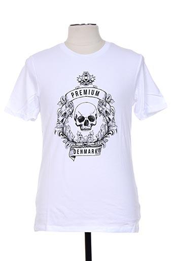 jack & jones t-shirts homme de couleur blanc