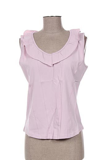 solola chemises femme de couleur violet