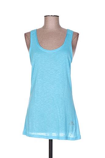 cpm t-shirts femme de couleur bleu