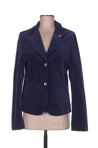 Veste chic / Blazer bleu LA MARTINA pour femme
