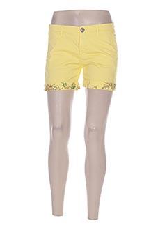 Short jaune LA MARTINA pour femme