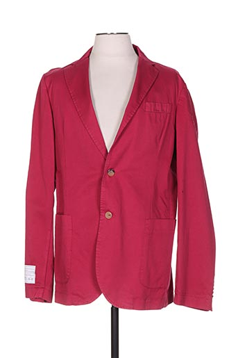 Veste casual rouge LA MARTINA pour homme