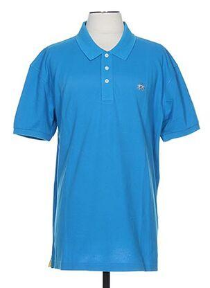 Polo manches courtes bleu LA MARTINA pour homme