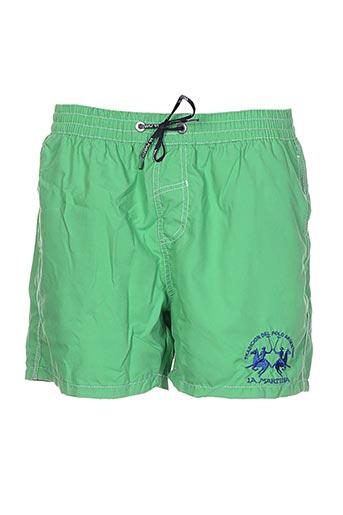 la martina maillots de bain homme de couleur vert