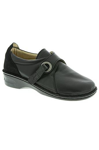 hergos chaussures femme de couleur noir