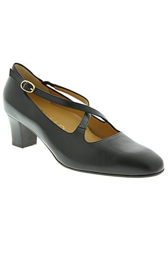 gioiello chaussures femme de couleur noir