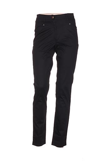 Pantalon casual noir FILIPINE LAHOYA pour femme