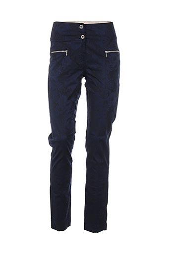 Pantalon casual bleu FILIPINE LAHOYA pour femme