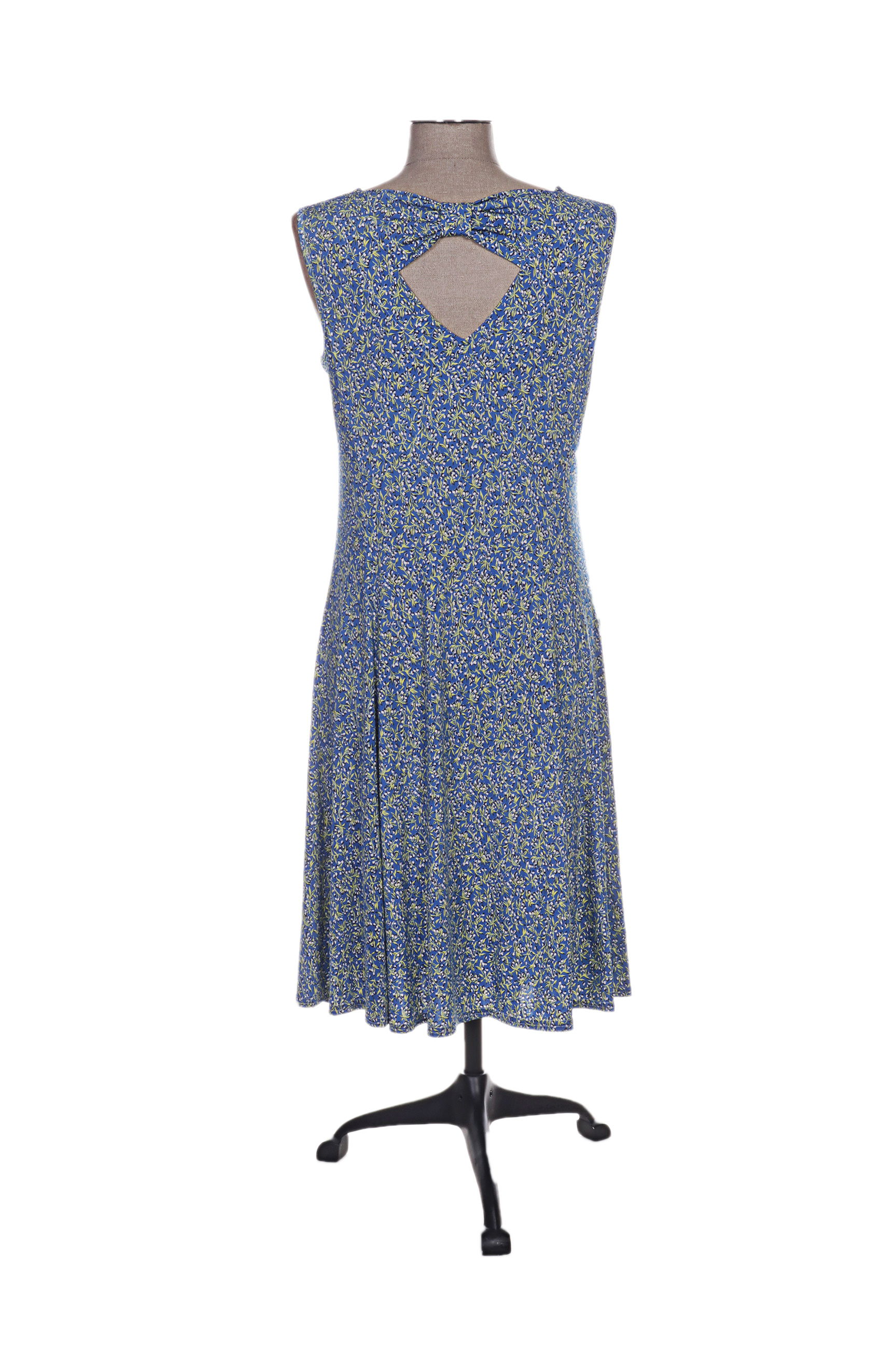 39cd5779762 Renatto Bene Robes Mi Longues Femme De Couleur Bleu En Soldes Pas ...