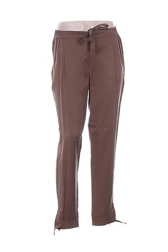 Pantalon casual vert ELORA pour femme
