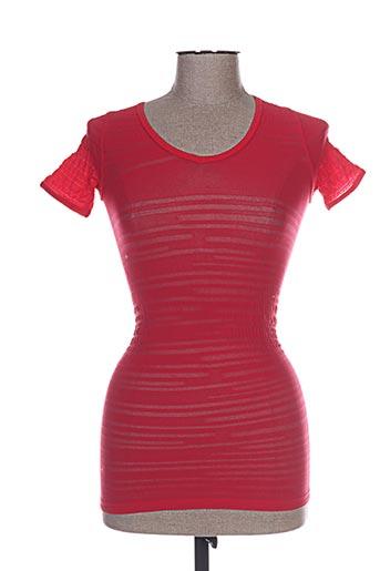 marithe EFFI_CHAR_1 francois girbaud chemises femme de couleur rouge
