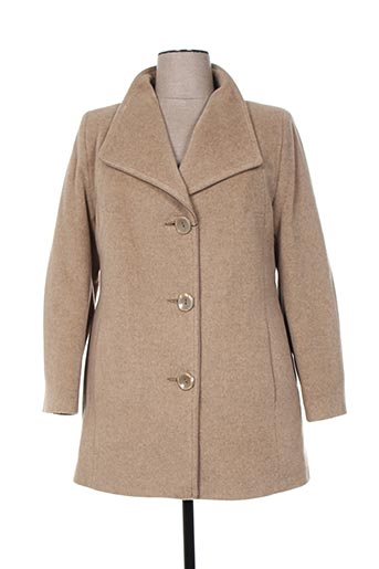 kamachi manteaux femme de couleur beige