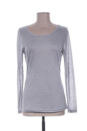 co2 chemises femme de couleur gris