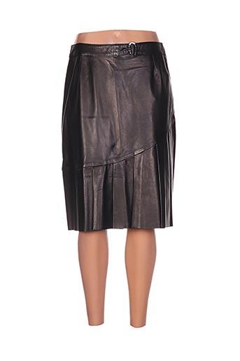 akhesa jupes femme de couleur noir