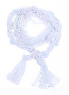 Foulard blanc DIKTON'S pour femme