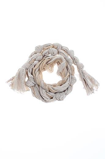 dikton's accessoires femme de couleur beige