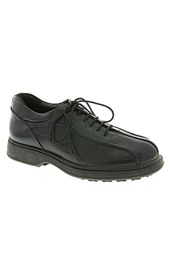 camel active chaussures homme de couleur noir