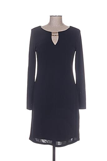 esqualo robes femme de couleur noir