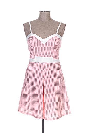 jus d'orange robes femme de couleur rose