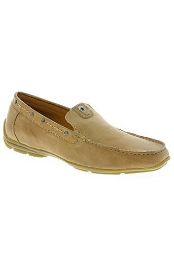 stressless chaussures homme de couleur beige