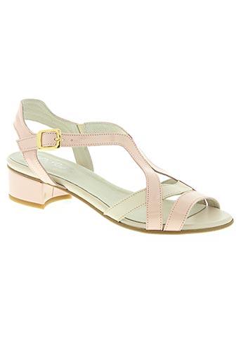 rebelles chaussures femme de couleur rose