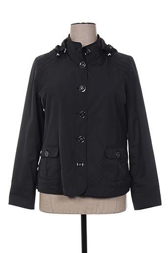 canasport manteaux femme de couleur noir
