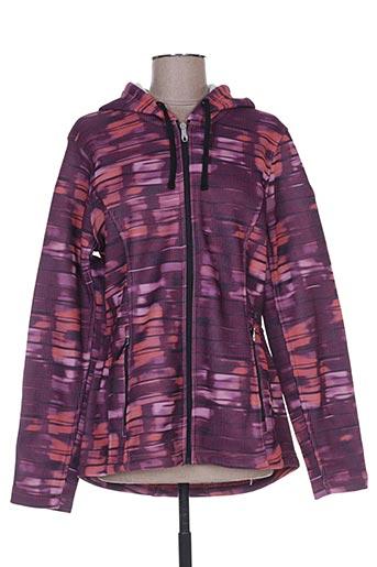 spyder vestes femme de couleur violet
