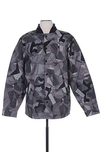 spyder manteaux homme de couleur gris