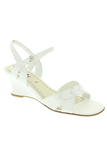 caprice chaussures femme de couleur blanc