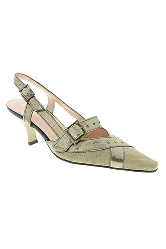 elantine chaussures femme de couleur beige