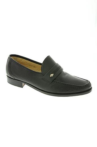 pertini chaussures homme de couleur noir