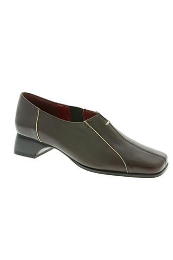 sonate chaussures femme de couleur marron