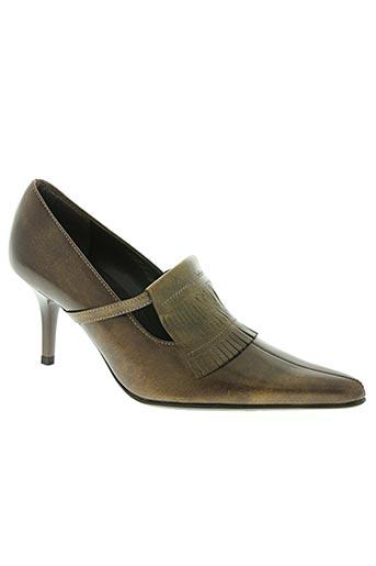 hogl chaussures femme de couleur marron