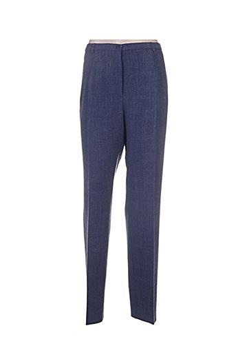Pantalon chic bleu PAUPORTÉ pour femme