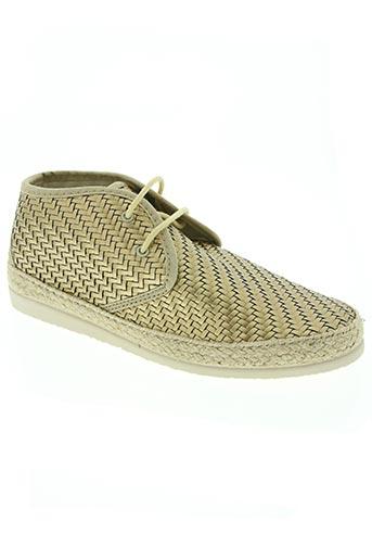 ippon vintage chaussures femme de couleur jaune