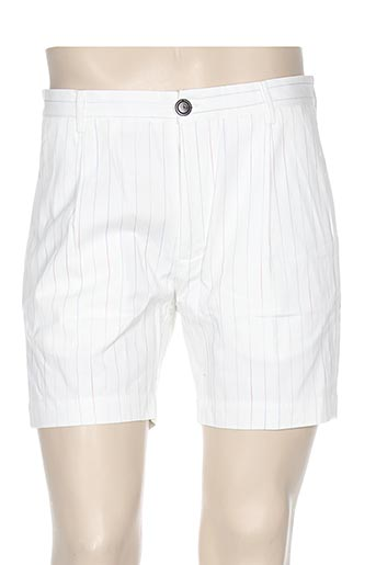 commune de paris 1871 shorts / bermudas homme de couleur blanc