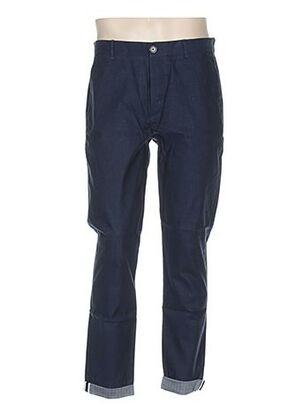 Pantalon chic bleu COMMUNE DE PARIS 1871 pour homme