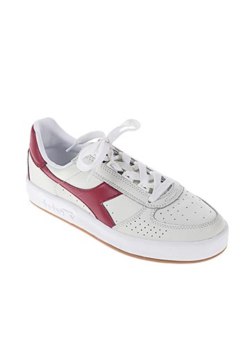 diadora chaussures homme de couleur rouge
