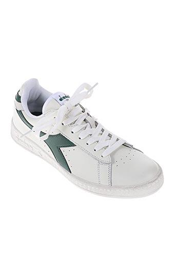 diadora chaussures homme de couleur vert