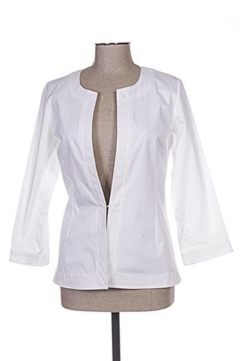 Veste chic / Blazer blanc BUGARRI pour femme