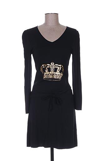alison.b robes femme de couleur noir