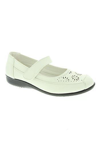 confortissimo chaussures femme de couleur blanc
