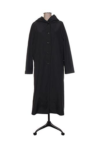 adolfo dominguez manteaux femme de couleur noir