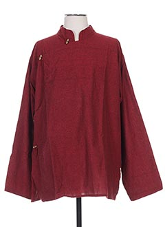 Veste casual rouge GOA pour femme