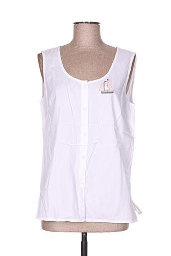 les marins de jac jac chemises femme de couleur blanc